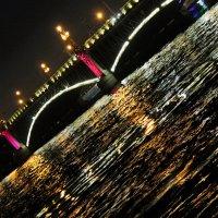Мосты, ночь, водная гладь :: Анастасия Лазарева