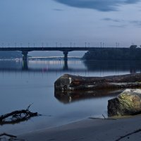 Рассвет на Днепре :: Владимир Шабатин