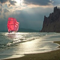Алые паруса Веры, Надежды и Любви :: viton