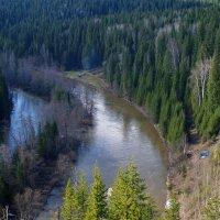 Река Вижай :: Сергей Комков