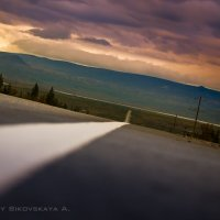 дорога на закат :: Анастасия Биковская