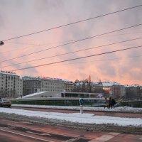Вена. Зима. Закат. :: Наталия Крыжановская