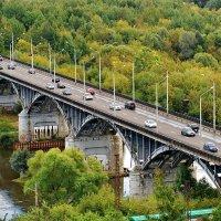 Город Владимир, мост через Клязьму :: Валерий Толмачев