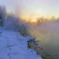 Голубой снег. :: Анатолий Круглов