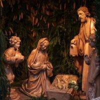 Библейский сюжет-деревянные резные фигурки :: Анастасия Богатова