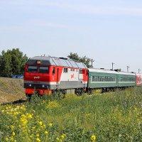 Пригородный поезд :: Игорь Ломакин
