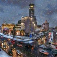 Тот самый первый ненадёжный мокрый снег... :: Ирина Данилова