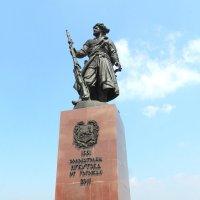 памятник основателям Иркутска :: vladimir Egoshin