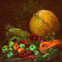 Осенний сбор урожая :: alexandr lin