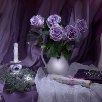 В канделябрах меркли свечи... :: Валентина Колова