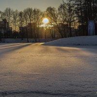 Зимний закат :: Valeriy Piterskiy