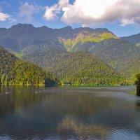 горы Абхазии :: Юрий Бичеров