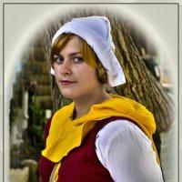 Портрет средневековой незнакомки-2 :: Shmual Hava Retro