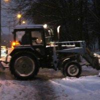 Чистим снег! С утра пораньше! :: Дмитрий Никитин