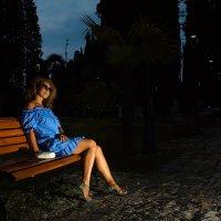 Вечером в парке :: Серргей Кузнецов