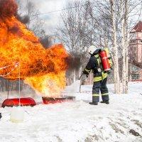 Показательное выступление пожарной охраны :: Алиса Кондрашова (Панская)