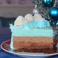 кусочек зимнего торта :: Татьяна Солодовникова