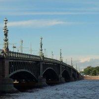 Тро́ицкий мост (ранее,  Кировский мост) :: Владимир Гилясев
