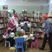 Новогодние встречи с малышами в библиотеке им. С. Есенина города Люберцы :: Ольга Кривых