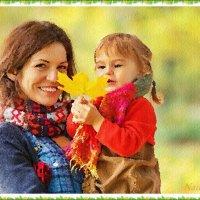 Счастье материнства :: Лидия (naum.lidiya)