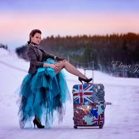 Автостопом по зиме :: Елена Тарасевич (Бардонова)