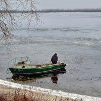 Волга в декабре :: Анатолий