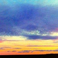 Небо. Закат. :: Анна Пацеева