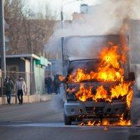 """про то как """"Газель"""" сгорела на дороге :: alex_belkin Алексей Белкин"""