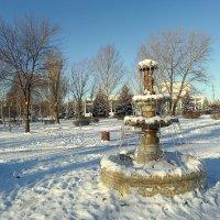 За два дня до Нового года выпал снег... :: Сергей Петров