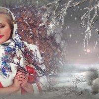«Тихо падает снег … и полет невесомых снежинок ...» :: vitalsi Зайцев