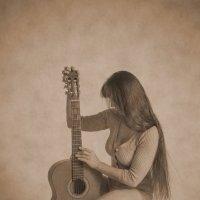 Девушка с гитарой :: KotoPalych Gf