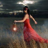Призрачная леди с фонариком :: Николай Макаренков