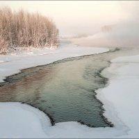 Щедро река делилась своим теплом :: Любовь Потеряхина