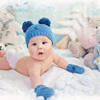 Фотосессии младенцев в студии :: марина алексеева