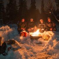 декабрь,январь,снегурочка и февраль :: Николай Бабий