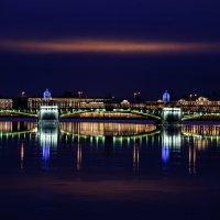 Последняя заря уходящего 2015 года в Санкт-Петербурге :: Михаил Вандич