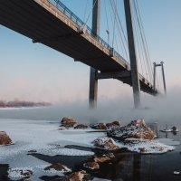 Зима. Енисей. :: Виктор Бабинцев