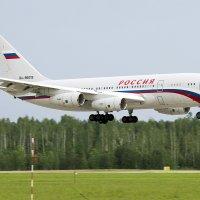 26 мая 2014 года. Ильюшин Ил-96-300. Аэропорт Минск-2 (UMMS) :: Сергей Коньков