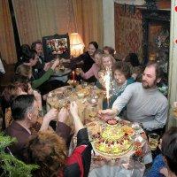 Лермонтовский центр. Встреча Нового Года-2005 :: arkadii