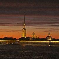 Петропавловка на закате :: Елена