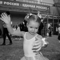 будущая гимнастка :: Ольга Штанько
