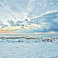 Чёрное море в январе.... :: Елена Сухова