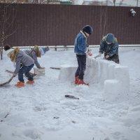 Строим крепость :: Сергей Десятнюк