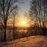 Закат над озером Инголь. :: Наталья Юрова