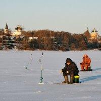 Последняя рыбалка года :: Николай Белавин
