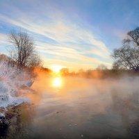 Морозные закаты января... :: Андрей Войцехов