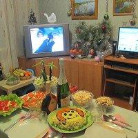 Встреча нового года. :: Мила Бовкун