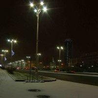 Первый снег в моём городе :: михаил суворов