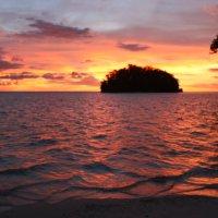 Папуа Новая Гвинея.Закат :: Антонина
