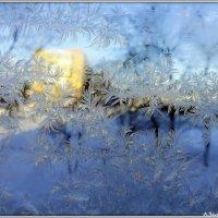 Мороз рисует на стекле :: Андрей Заломленков
